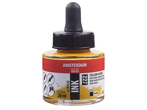 Amsterdam Ink 30ml – 227 Yellow Ochre