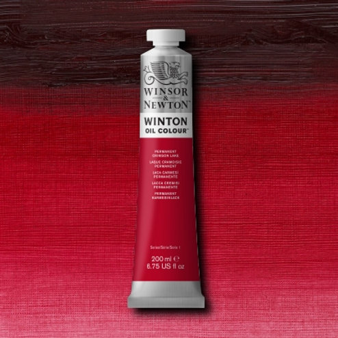 Winton Oil Colour Permanent Crimson Lake