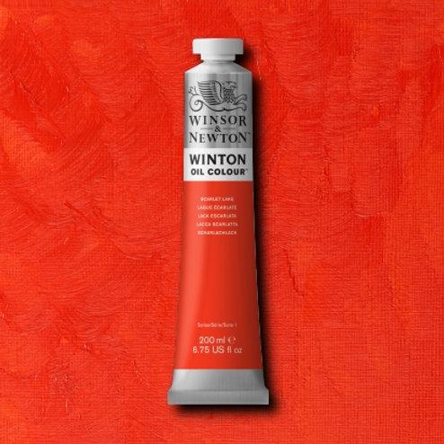 Winton Oil Colour Scarlet Lake