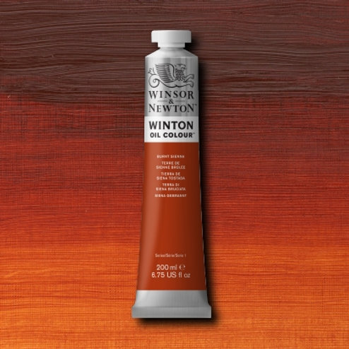 Winton Oil Colour Burnt Sienna
