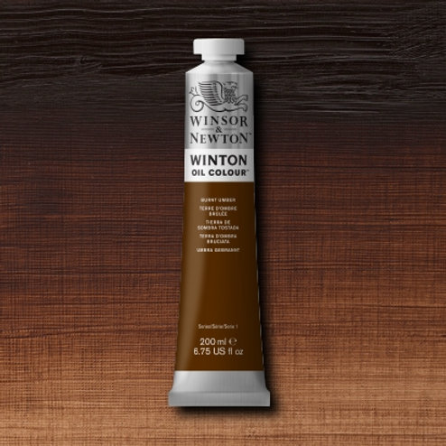 Winton Oil Colour Burnt Umber