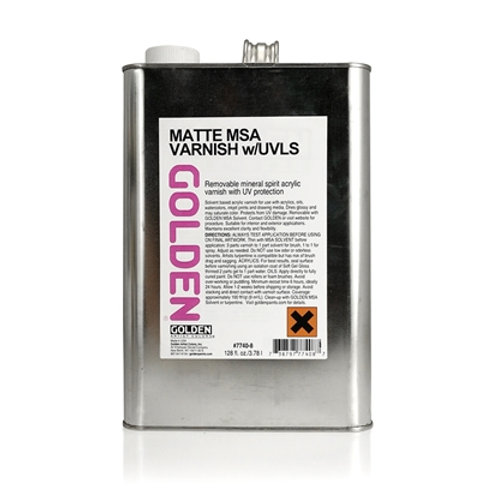 GOLDEN Ferniss Matte 3,78L
