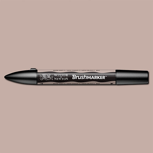 W&N Brushmarker - Warm Grey 2