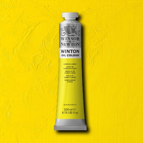 Winton Oil Colour Cadmium Lemon Hue