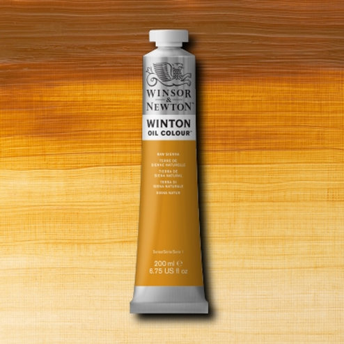 Winton Oil Colour Raw Sienna
