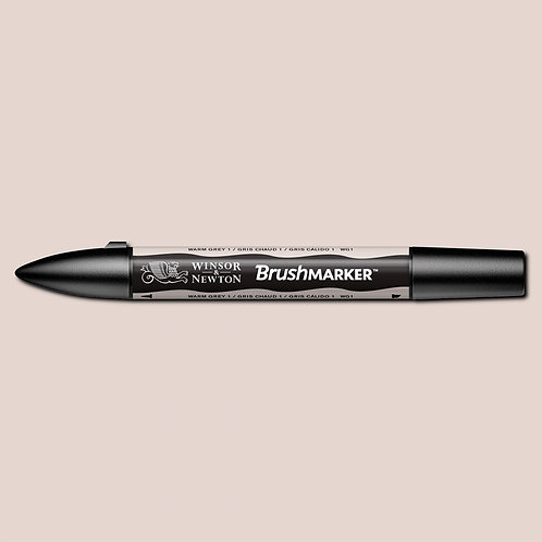 W&N Brushmarker - Warm Grey 1