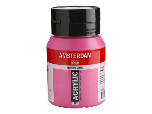 Amsterdam Standard 500ml - Permanent Red Violet It.