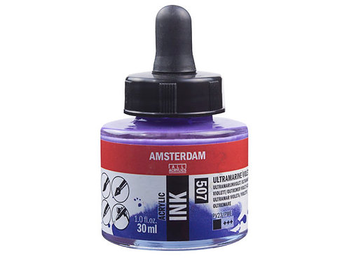 Amsterdam Ink 30ml – 507 Ultramarine Violet