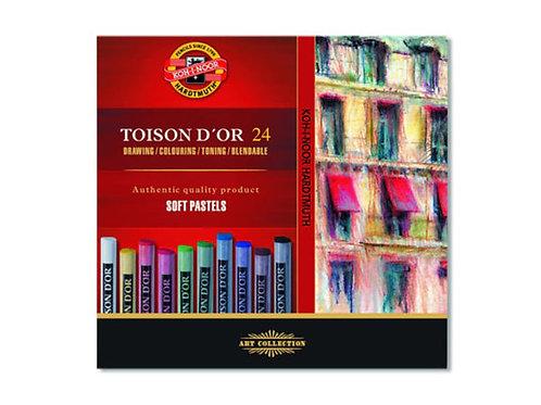 Koh-i-Noor Soft Pastel Rund – Sett 24stk
