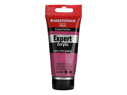 Amsterdam Expert 75ml - Permanent Red Violet Opaque