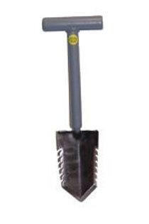 """Lesche 18"""" T Handle Sampson Shovel Single Serrated"""