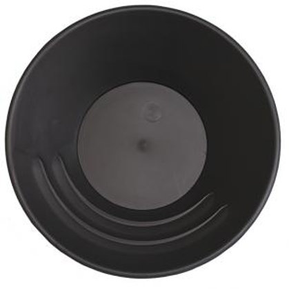 "Archer 10"" Gold Pan in Black (Steel Gray)"