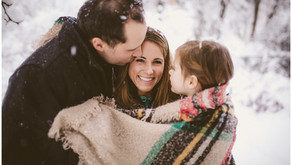 Lombard Family Photographer - First Snow Fall of the Season