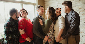 Generation Family In Home - NWI Family Photographer