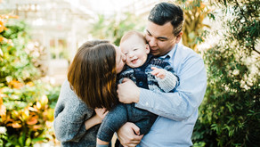 Elmhurst, IL Family Photographer - Pretty Colors & A One Year Old Cutie!