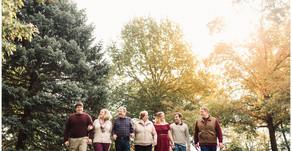 Lombard Family Photographer - Lilacia Park - Fun Group of Seven