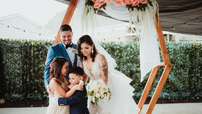 Backyard Chicago Wedding 2020 - Maria Rosa Photography