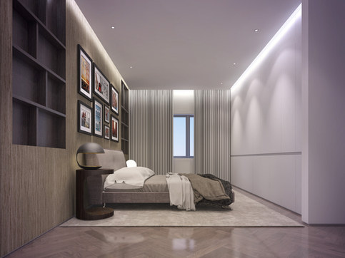 Full refurbishment of a luxury four bedroom apartment in Vale Court, Maida Vale W9 by RIBA Chartered Practice qR Architects London  Maida Vale Architects