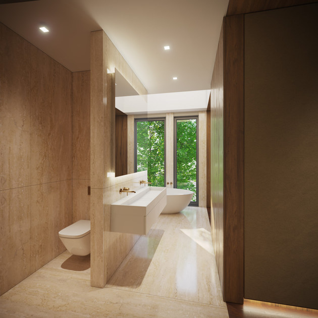 New residential detached Mansion by RIBA Chartered Practice qR Architects London  Enfield Architects