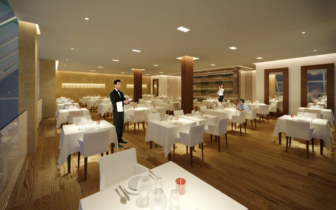 Italian Restaurant, Canary Wharf E14