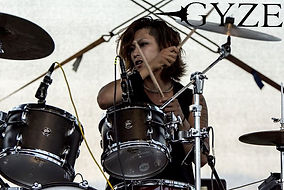 gyze shuji more than fest drummer