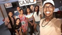 Cours à Port Louis à Lakaz d'Art (2019)