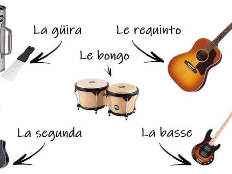 Les Instruments de la Bachata