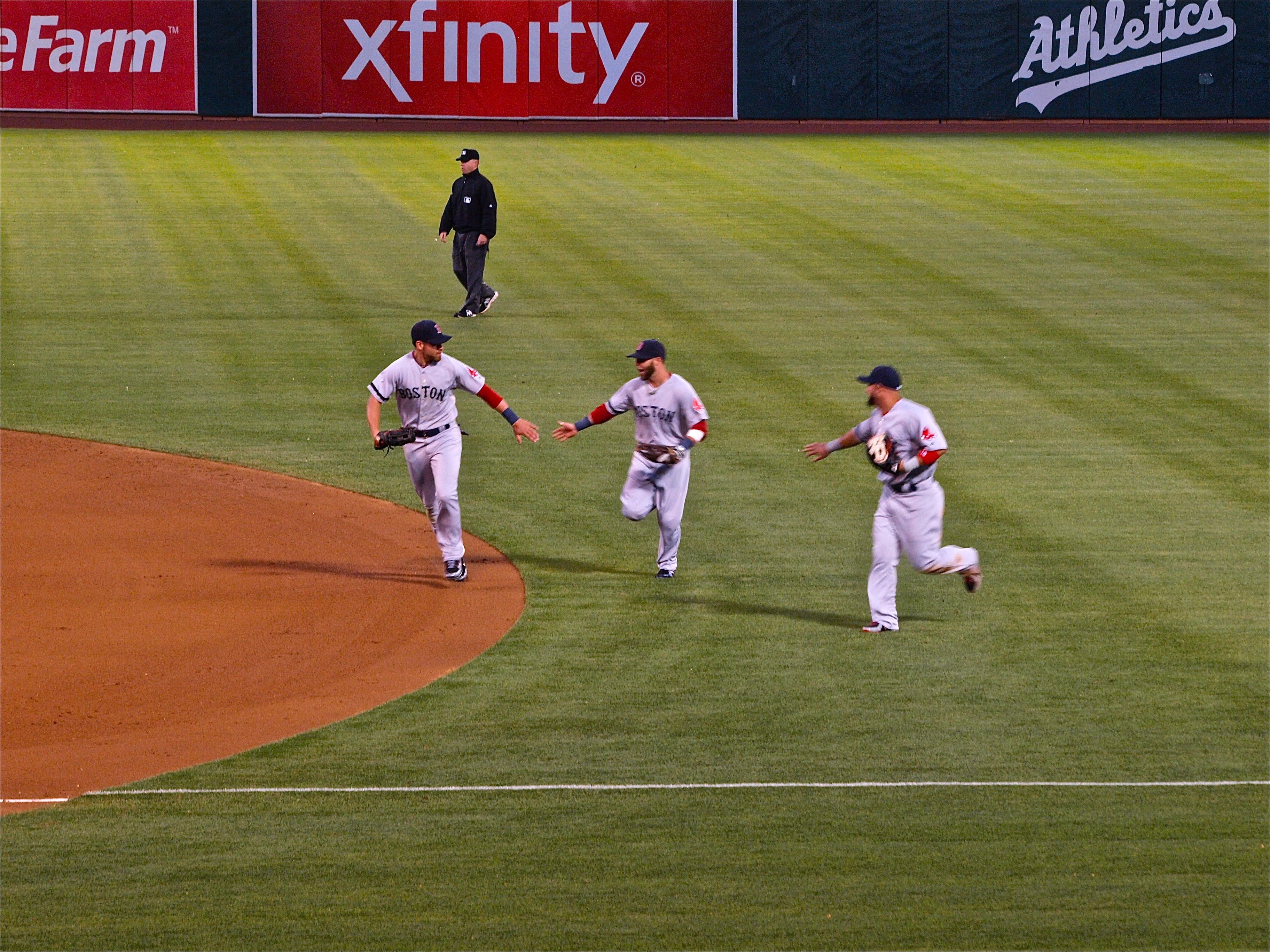 Red Sox at Oakland