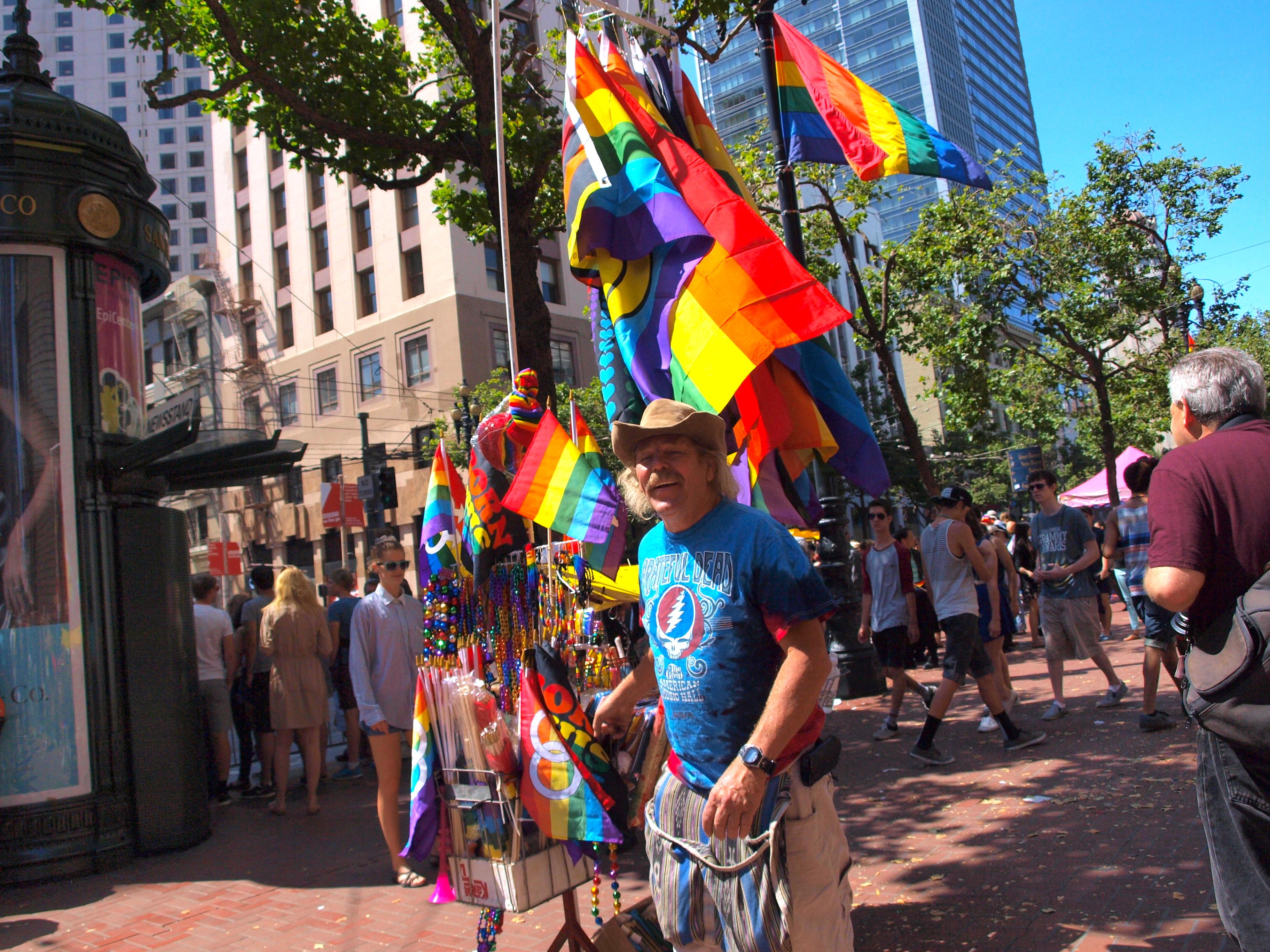 Pride Vendor