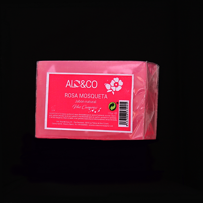 Savon naturel à la rose musquée - Jabon natural Rosa mosqueta