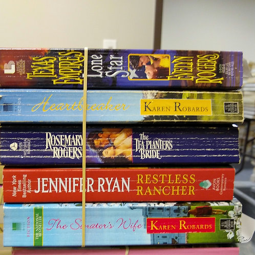 Evelyn Rogers, Karen Robards, Rosemary Rogers, Jennifer Ryan,