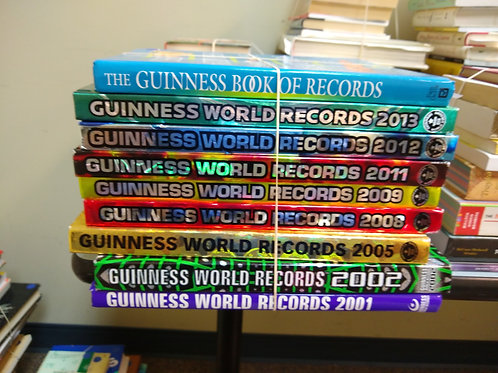 Reference Guinness book of world records