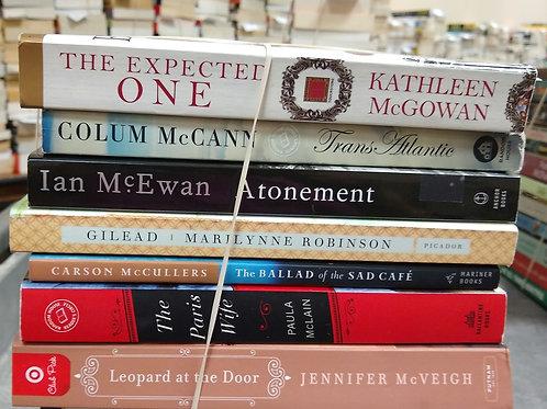 McGowan, McCann, McEwan, McCullers, McLean, McVeigh