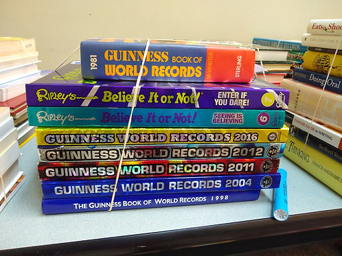 Reference Guinness book world records