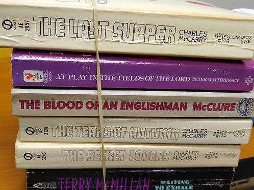 McCarry, Matthiessen, McClure, McMillan