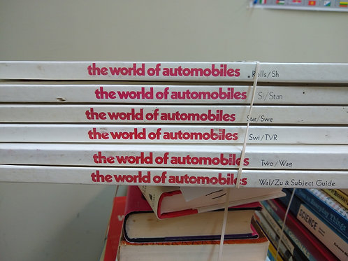 Reference the world of automobiles