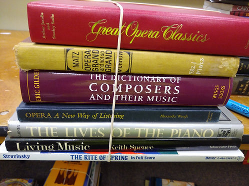 Hearts music composers Opera