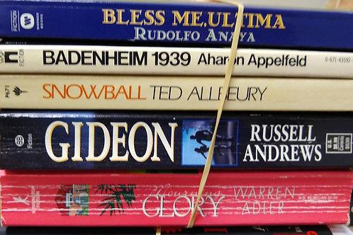Anaya, Appelfeld, Allbeury, Andrews, Adler