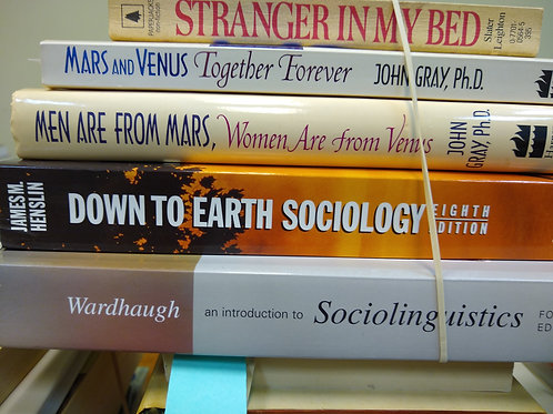 Sociology men and women