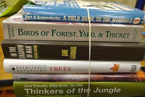 Birds mammals trees