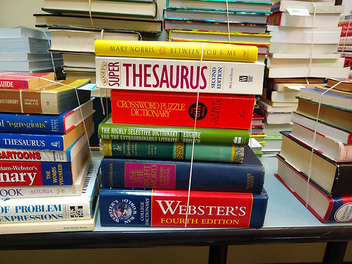 Reference dictionaries thesaurus