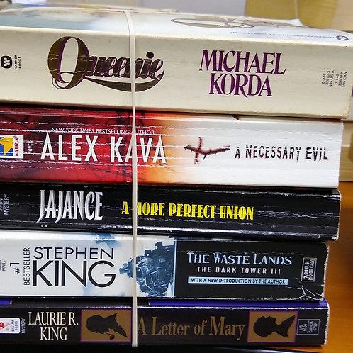 Michael Jordan, Alex Java, Janice, Stephen King, Laurie King
