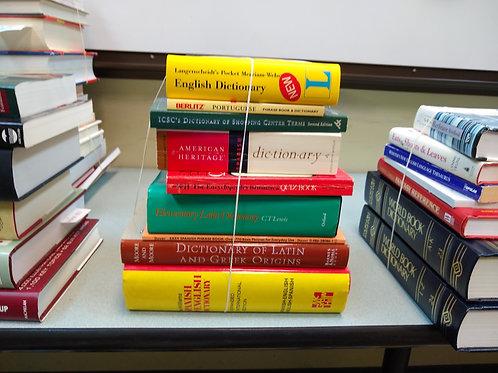 Reference dictionary Latin Spanish Greek dictionary