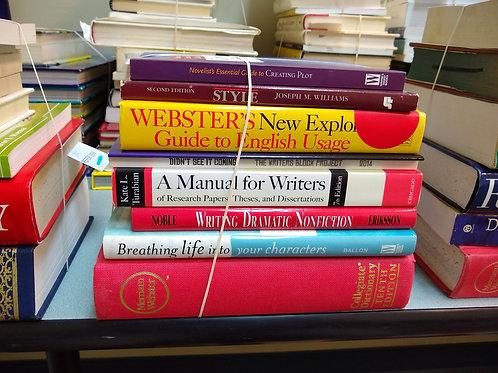 Reference writing style English usage