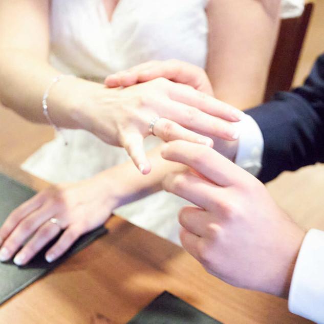 Hochzeit in Bremen Trauung