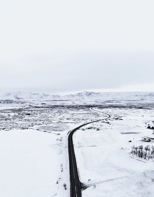 Icelamnd Island Droneshot