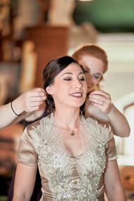 Ankleiden Getting Ready Hochzeit