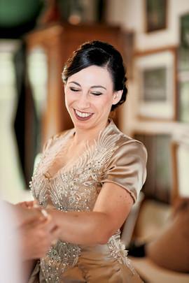 Ankleiden Hochzeit Braut