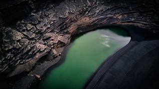 Lanzarote Droneshot Lago Verde