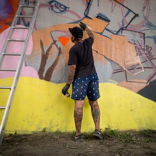 Mural wall art